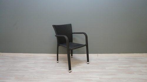 כסא ראטן דגם קרלוס שחור