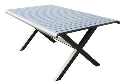 שולחן אוכל גלבוע אפור פחם