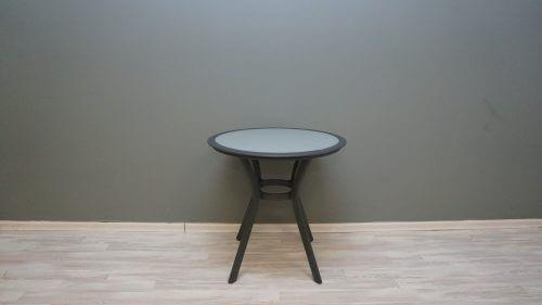 שולחן נועם 72 עגול אפור