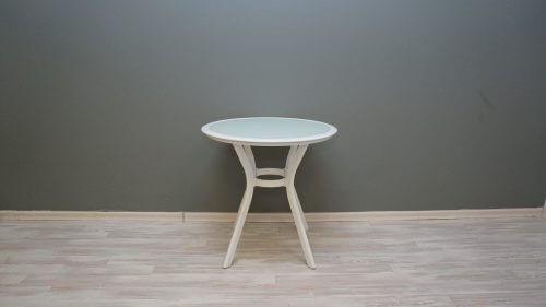 שולחן נועם 72 עגול לבן