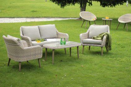 מערכת ישיבה לגינה - פרובנס בהיר