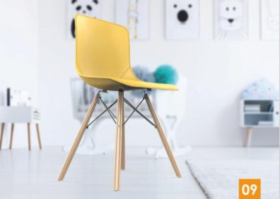 כסא דגם מאיה רגלי עץ