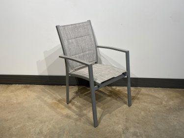 כסא אגם גב אפור בהיר