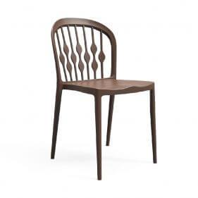 כסא פלסטיק - קריסטל