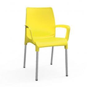 כסא פלסטיק - אלגנט