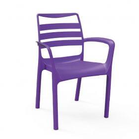 כסא פלסטיק - לוטוס