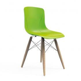 כסא בר פלסטיק - מאיה