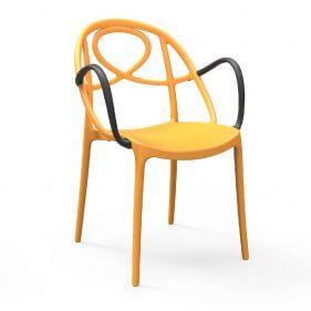 כסא פלסטיק - טוויסטר