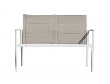 ספה דו מושבית דגם ניו אקספרט - צבע לבן
