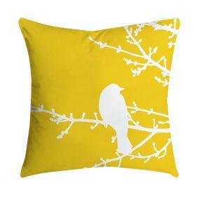 כרית נוי בד סנברלה צהוב תמונה