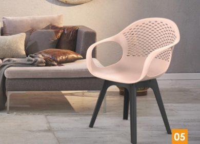 כסא פלסטיק - קוברה רגלי פלסטיק