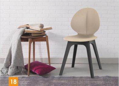 כסא דגם פרינס רגלי פלסטיק