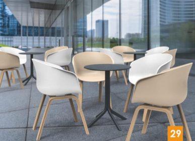 כסא דגם יאמה רגלי עץ