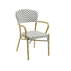 כסא זברה אפור