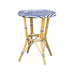 שולחן זברה כחול