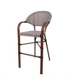 כסא בר פריז צבע גרז'