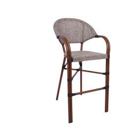 כסא בר פריז צבע טבעי