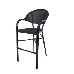 כסא בר פריז צבע שחור