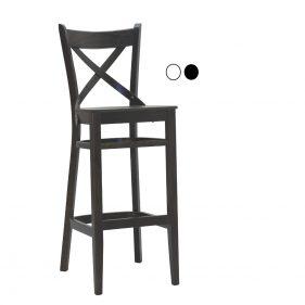 כסא בר עץ למסעדה - דגם אקסטרה