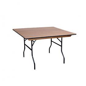 שולחן עץ מתקפל ריבוע 160 ס