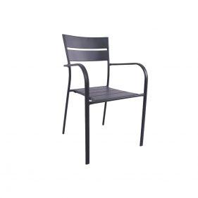 כסא אלומיניום ליינס עם ידיות