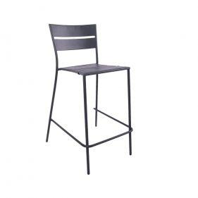 כסא בר אלומיניום ליינס