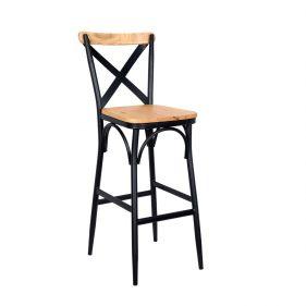 כסא בר טיילור כהה