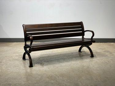 ספסל אלומיניום דגם בריסל
