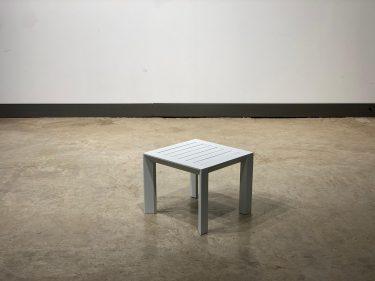 שולחן צד פנמה לבן