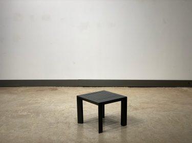 שולחן צד פנמה אפור פחם